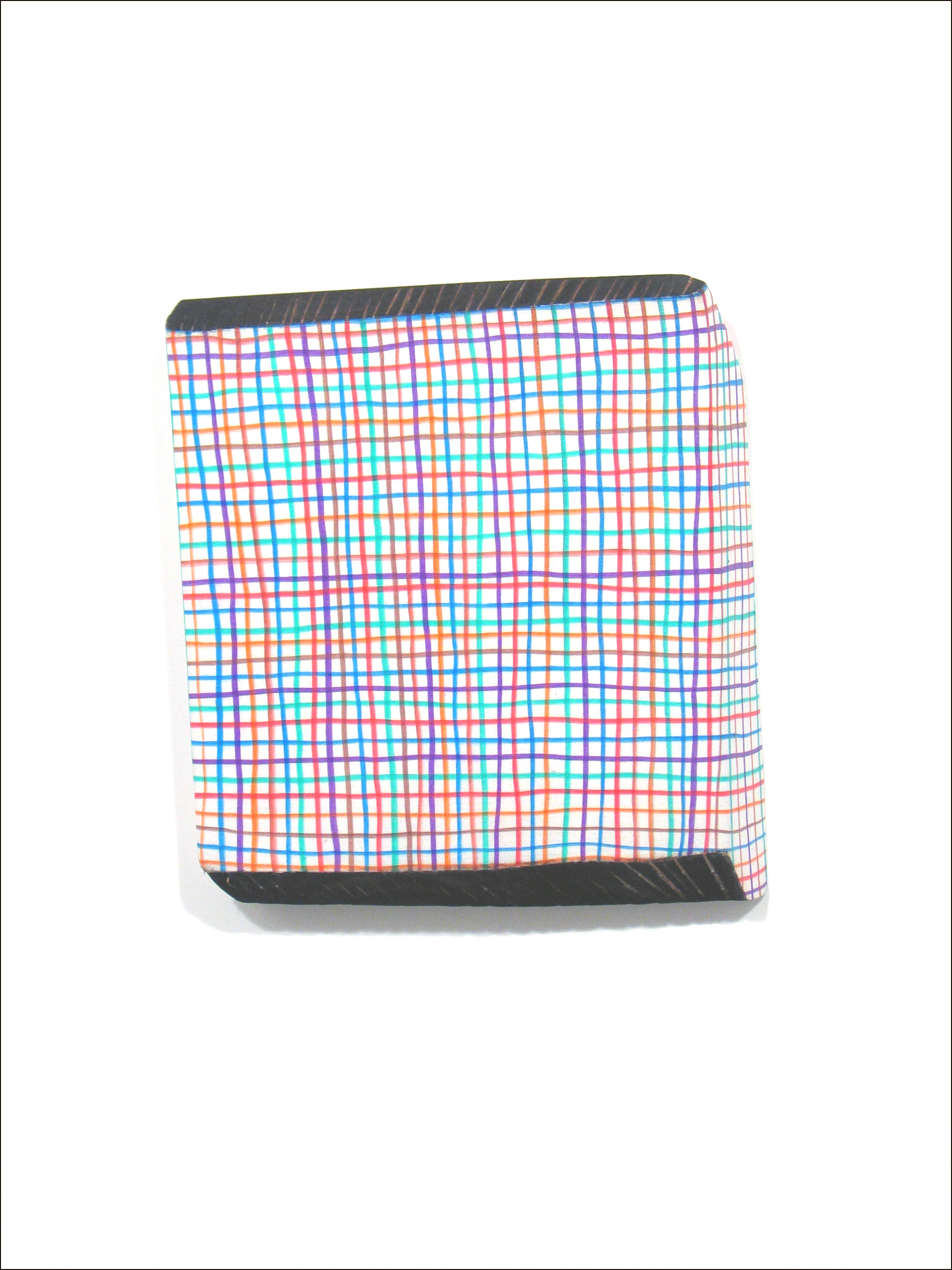 Plaid Wall Box 10x9.5x1.5 in in
